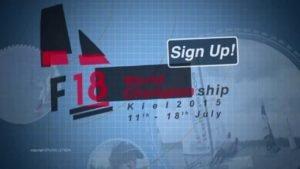 <b>Regatta - F18 World Championship Kiel 2015 - Trailer</b>