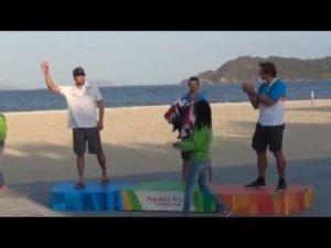 <b>Regatta - Finn Medal Race at Aquece Rio 2015 Test Event</b>
