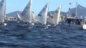 <b>Regatta - Finns day 1 & 2 at the Aquece Rio 2015 Test Event</b>