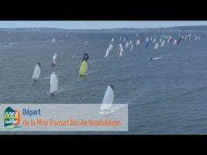 <b>Top départ de la Mini Transat Iles de Guadeloupe</b>