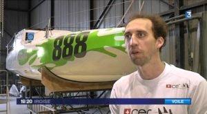 <b>Mini 6.50 - Eight Cube - Scowbug mit Flügeln</b>