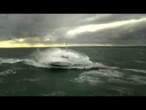 <b>Ocean Eagle 43 - Trimaran Patrol Vessel Sea Trial</b>
