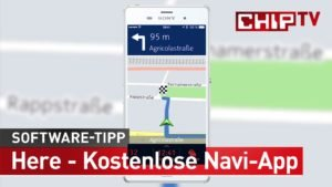 Apps fuer Segler:  Here – Navi-App