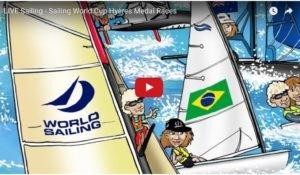 <b>LIVE Sailing - Sailing World Cup Hyères Medal Races</b>