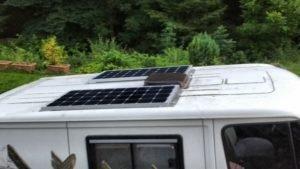 Wohnmobil - Solaranlage inst...