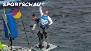 <b>Segeln 49er: Heil/Plößel segeln zu Bronze | Rio 2016 | Sportschau</b>