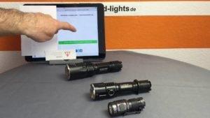 <b>Vorsicht bei Hochleistungs-LED-Taschenlampen</b>