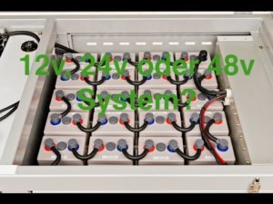 PV –  12v, 24v oder 48v System?