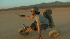 Freestyle Kite Buggy @ Ivanpah Dry Lake – Brian Holgate