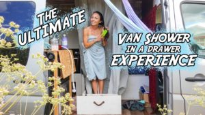 Brittany's  Van-Shower