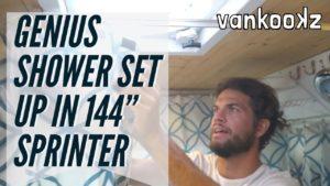<b>Engineer Designs Ultimate Shower for 144 Sprinter Van</b>