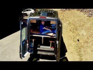<b>Kastenwagen-Ausbau mit Hilfe von Alu-Profilen</b>