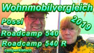 Pössl Roadcamp 540 R und Road...