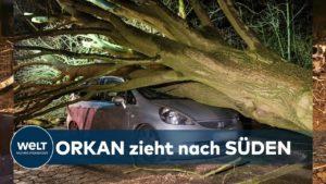 <b>STURM SABINE: Orkan wirbelt Nord- und Westdeutschland durcheinander</b>