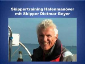 Skippertraining Hafenmanöver...