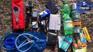 Ausrüstung für 50 km Wanderun...