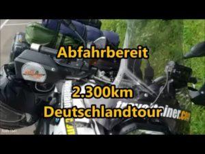 <b>Ist die GoPro Actioncam wirklich so schlecht -  2300 km Deutschlandtour</b>