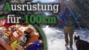 <b>Megamarsch 100km in 24h - Teil 2 - Ausrüstung - Winter</b>