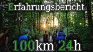<b>Megamarsch 100km in 24h -Teil 4- Erfahrungsbericht</b>
