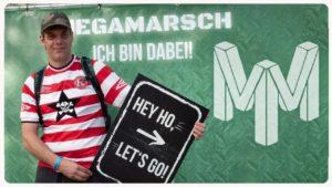 <b>Megamarsch Düsseldorf ✪ 50 km in 12 Stunden am 06.07.2019 ✪ Ausrüstung, Wanderung und Resümee</b>