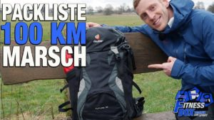 <b>PACKLISTE für 100 km Märsche & Extremwanderungen // Rucksack für 100 km-Wanderung packen</b>