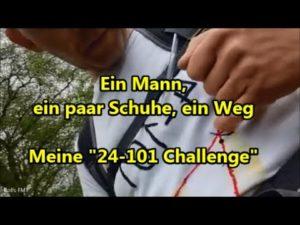 <b>Rolf's 24-101 Challenge - Ein Mann, ein paar Schuhe, ein Weg</b>