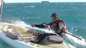 <b>The Big Tuesday: 25/30 knots Finn stuff in Valencia</b>