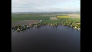 Das Uphuser Meer bei Emden