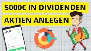 <b>Geld in Dividenden-Aktien anlegen</b>