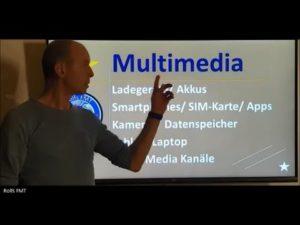 Multimediaausrüstung für die ...