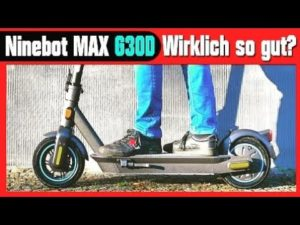 Ninebot G30D - E-Scooter - m...
