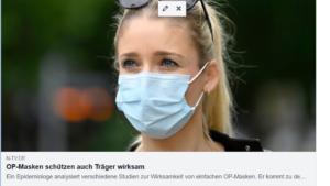 OP-Masken schützen auch den T...