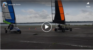 Blokart Racing auf der Kiele...