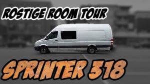 <b>Rostiger Mercedes Sprinter 318 - Room Tour + Low Budget MX Ausbau</b>