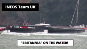 <b>INEOS Team UK Britannia Sea Testing 19th Oct 2020</b>