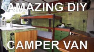 <b>Self-Build DIY Camper Van</b>