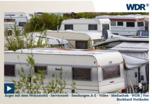WDR -  Ärger mit dem Wohnmobi...