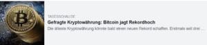 Bitcoin & Co -  da tut sich ...
