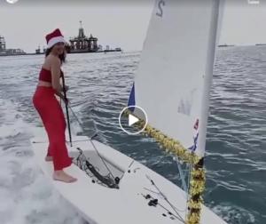 Christmas Lasersailing - Mari...