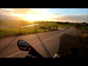 Motorradtour mit Zelt, TET Os...