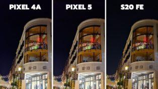 Pixel 4a vs Pixel 5 vs S20 FE...