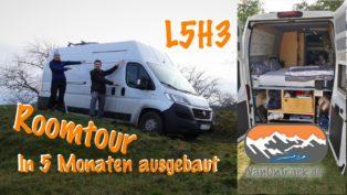 Roomtour -  Ducato L5H3 - mit...