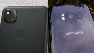Samsung S8 vs Pixel 4a
