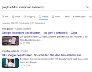 Wie haltet Ihr es mit Google...