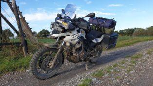 Motorradtour mit Zelt, Nordde...