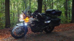 Teil 5, Motorradtour mit Zelt...