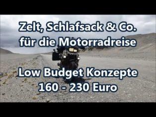 Zelt, Schlafsack & Co. bis -1...