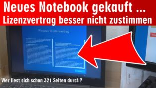Neues Notebook gekauft ɵ...