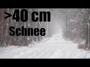 Schneekatastrophe im Anmarsch