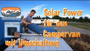 Solar im Campervan - Parallel...